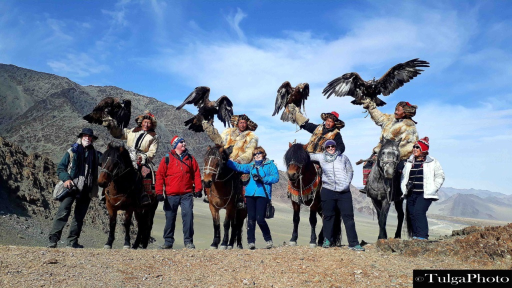 Clients with Golden Eagle