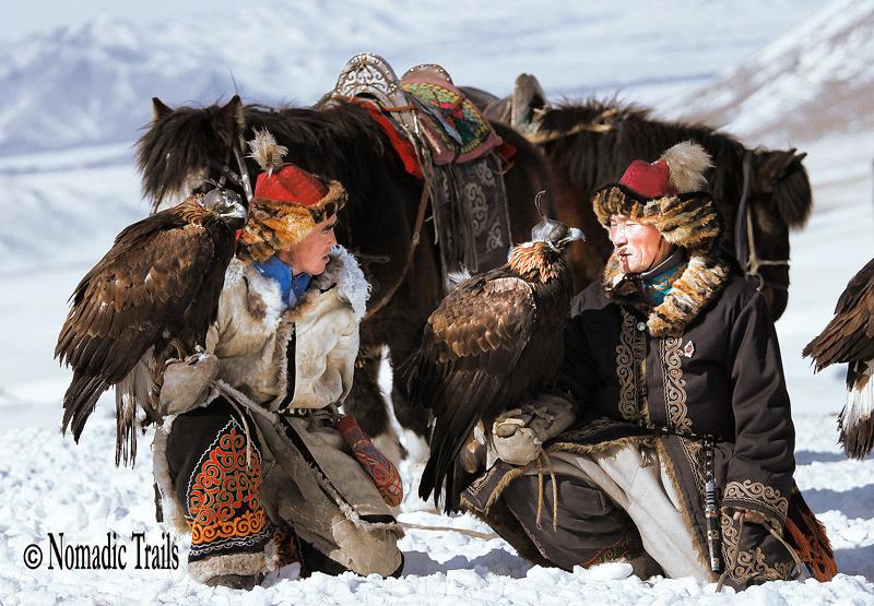 Golden eagle Hunters