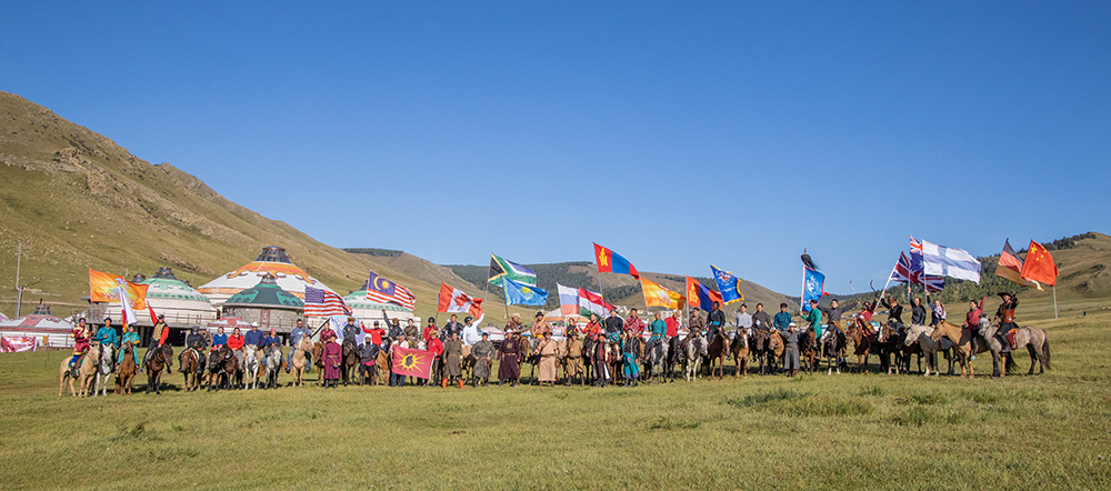 Horse Archery Competition Mongolia8