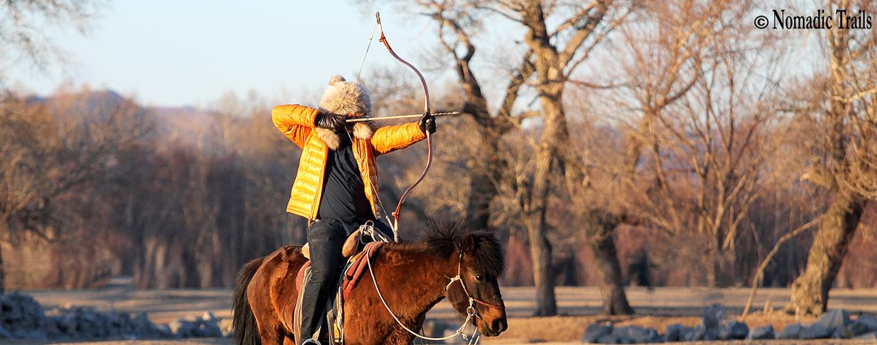 MOUNTED HORSEBACK ARCHERY TOUR MONGOLIA 2018