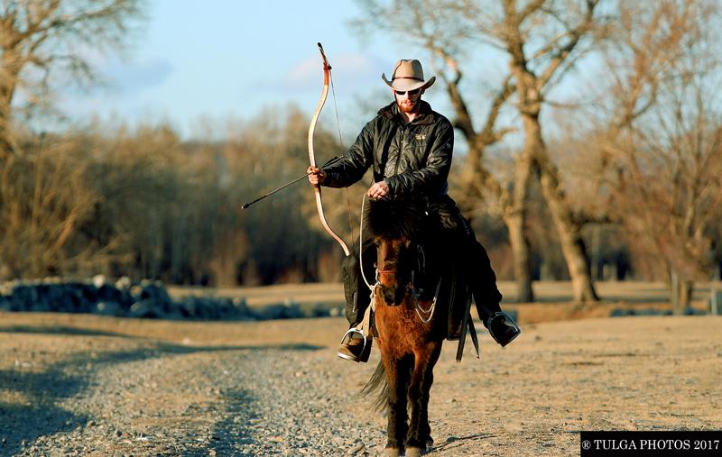 Mongolian Horseback Archery tou