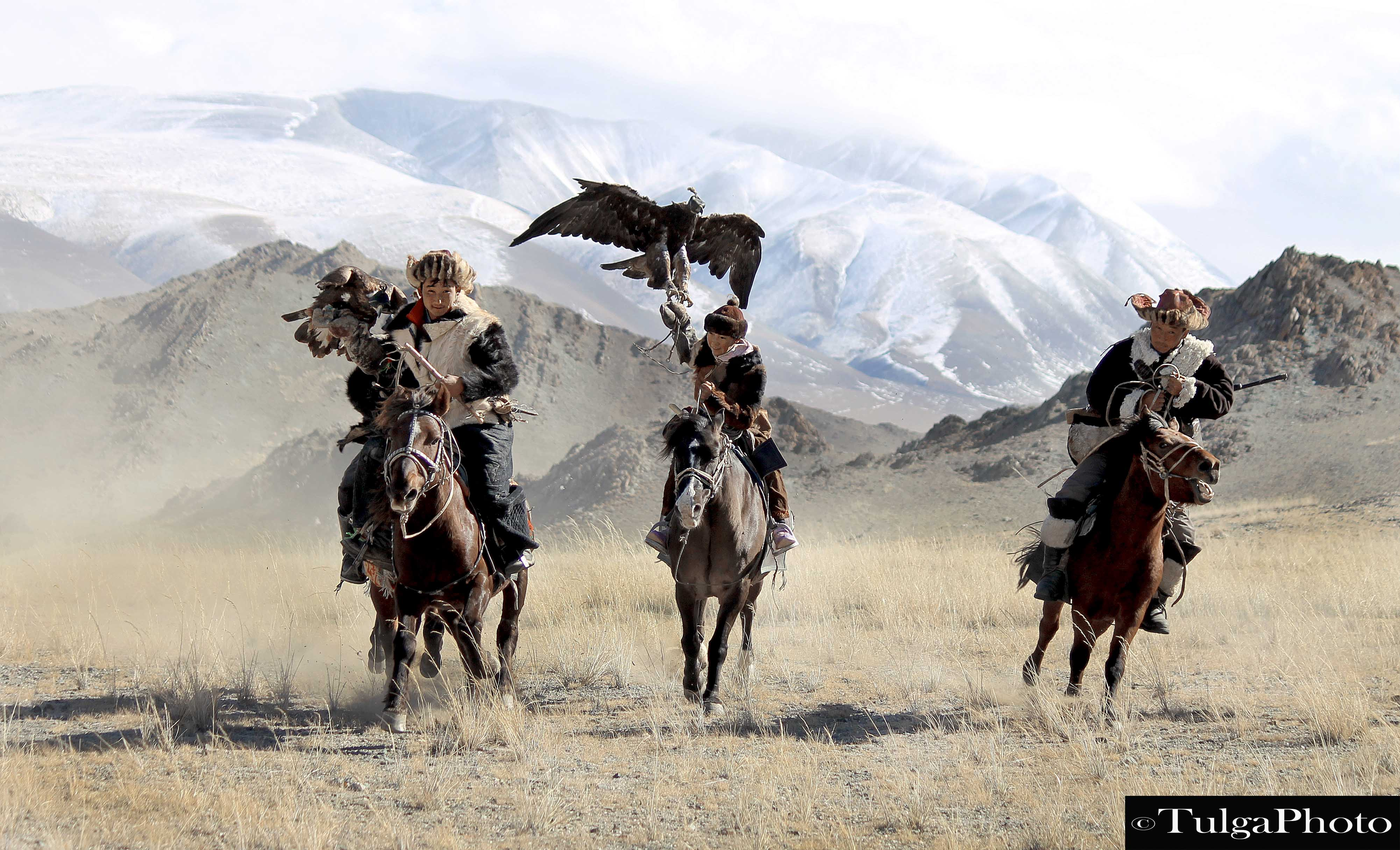 Golden Eagle Festival 2018-with Nomadic Trails, in Altay, Mongolia