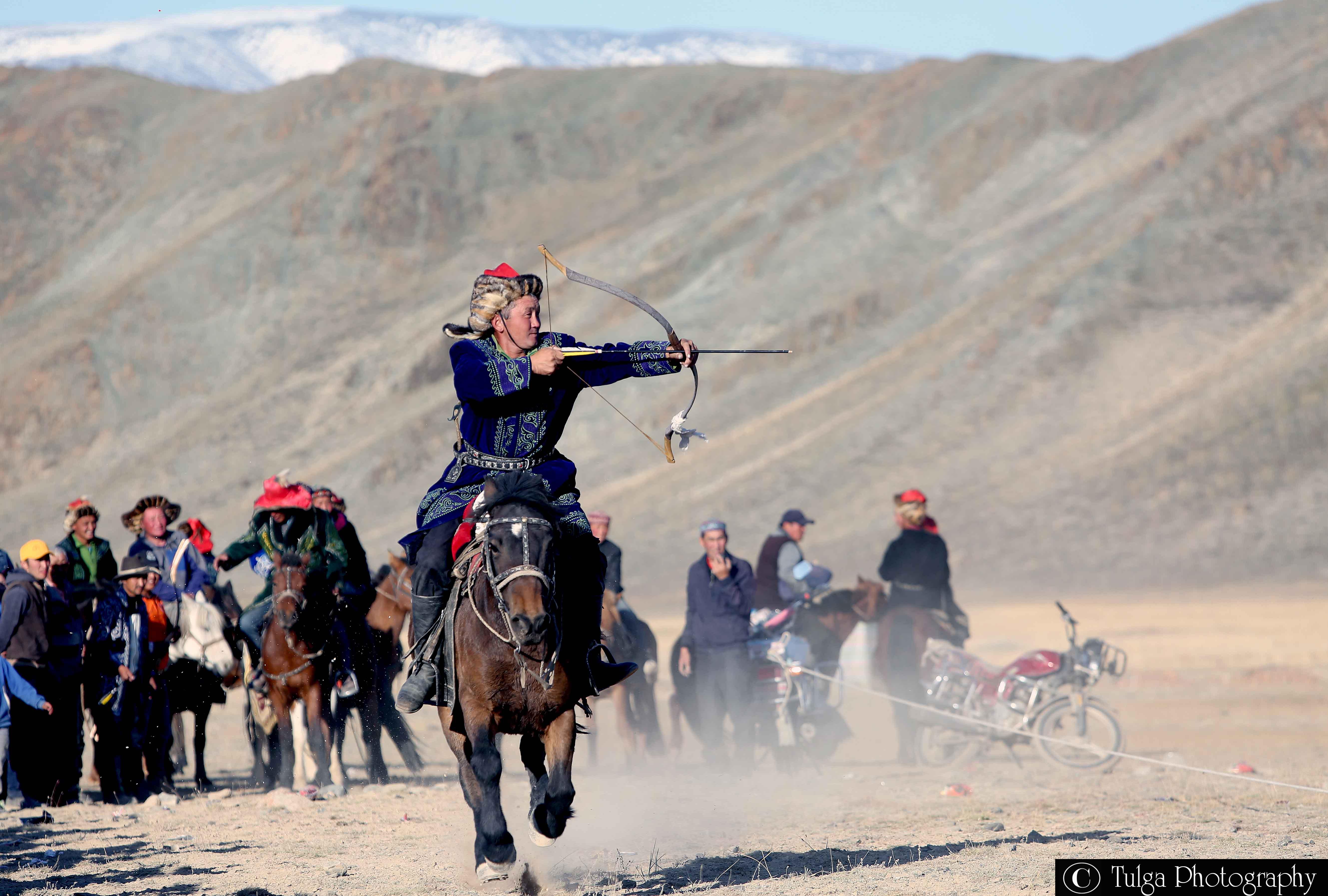 Golden Eagle Festival- Horse Archery